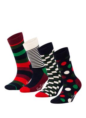 Happy Socks 4er-Pack Socken in Geschenkbox