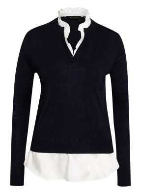 TED BAKER Pullover ILINAA mit Blusensaum