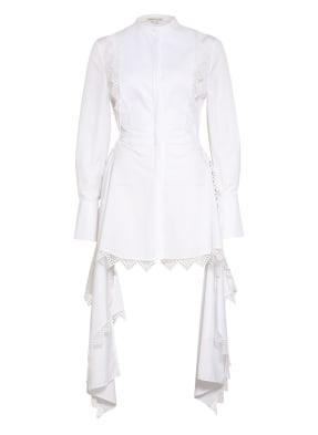 ALEXANDER McQUEEN Kleid LOOK 13 mit Häkelspitze