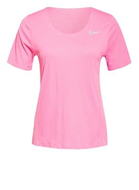 Nike Laufshirt CITY SLEEK mit Mesh-Einsätzen