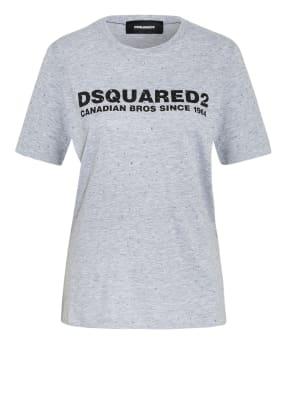 DSQUARED2 T-Shirt mit Schmucksteinbesatz