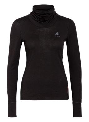 odlo Funktionswäsche-Shirt NATURAL 100% MERINO WARM aus Merinowolle