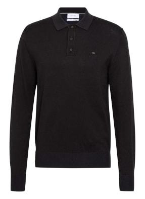 Calvin Klein Strick-Poloshirt