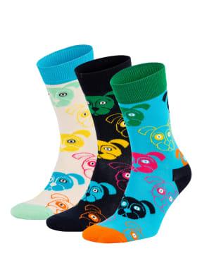 Happy Socks 3er-Pack Strümpfe