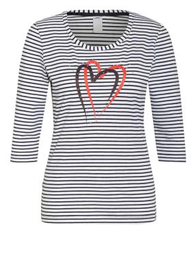JOY sportswear Shirt JESSY mit 3/4-Arm und Nietenbesatz