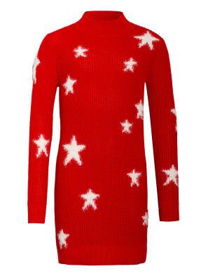 TOMMY HILFIGER Stickkleid STAR