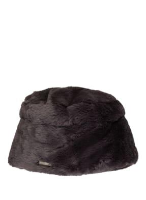 SEEBERGER Hut mit Kunstpelzbesatz