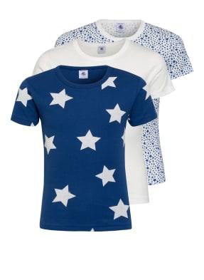 PETIT BATEAU 3er-Pack T-Shirts