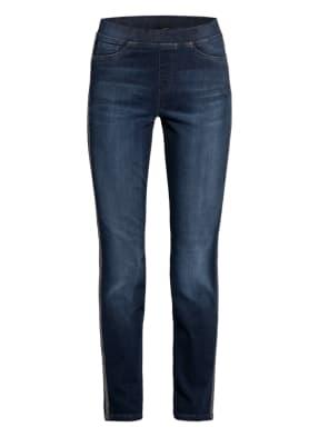 CAMBIO Skinny Jeans PHILIA mit Galonstreifen