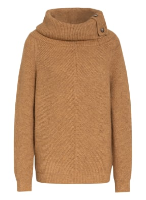 summum woman Oversized-Rollkragenpullover