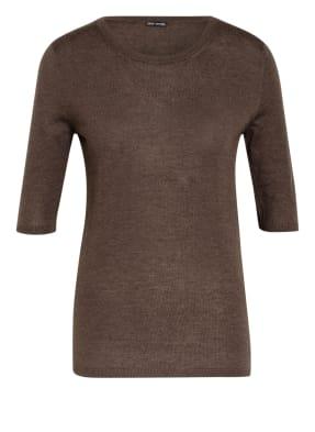 IRIS von ARNIM Kurzarm-Pullover aus Cashmere
