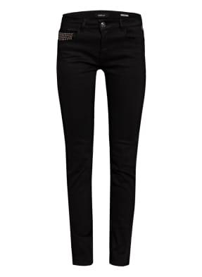 REPLAY Jeans FAABY mit Schmucksteinbesatz