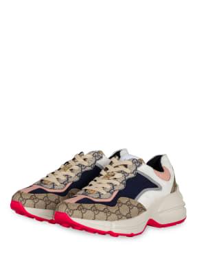 GUCCI Plateau-Sneaker RHYTON GG