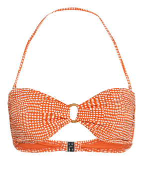 SEAFOLLY Bandenau-Bikini-Top SPOTTED