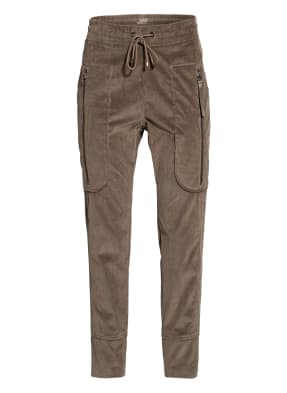 MAC 7/8-Cordhose FUTURE 2.7 im Jogging-Stil