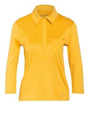 efixelle Jersey-Poloshirt mit 3/4-Arm
