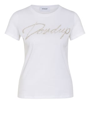 Dondup T-Shirt mit Schmucksteinbesatz