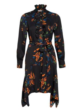 TORY BURCH Kleid mit Volantbesatz