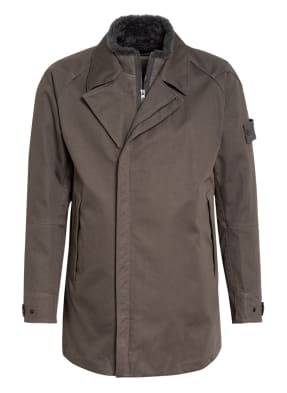 STONE ISLAND Mantel mit Dauneninnenjacke
