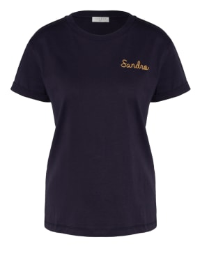 sandro T-Shirt mit Stickereien