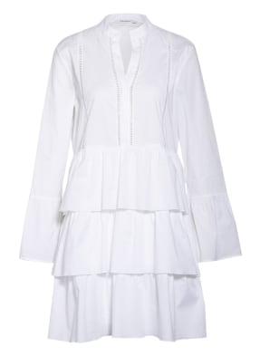 Soluzione Kleid mit Volants