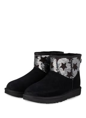 UGG Boots CLASSIC MINI mit Paillettenbesatz