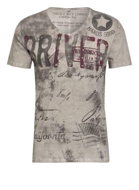 KEY LARGO T-Shirt mit Nietenbesatz