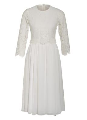 IVY & OAK Kleid mit 3/4-Arm und Spitzenbesatz