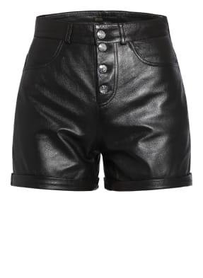 maje Leder-Shorts IRINE