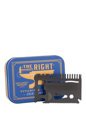 GENTLEMEN'S HARDWARE Kreditkarten-Tool
