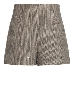 sandro Shorts mit Paillettenbesatz