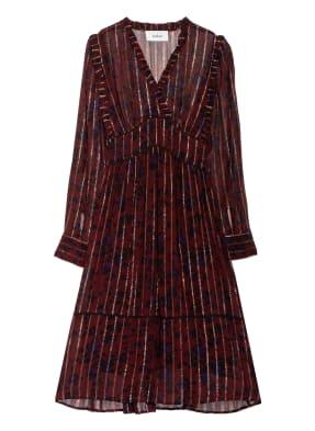 ba&sh Kleid PATSTY mit Rüschenbesatz