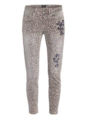 monari 7/8-Jeans mit Paillettenbesatz