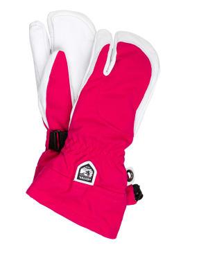 HESTRA 3-Finger-Skihandschuhe ARMY LEATHER HELI