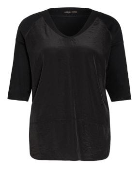 MARC CAIN Oversized-Blusenshirt im Materialmix