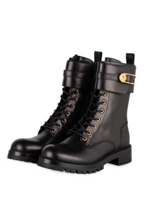VERSACE Biker Boots