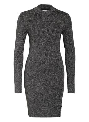 Calvin Klein Jeans Kleid mit Glitzergarn