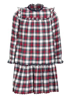TOMMY HILFIGER Kleid mit Volantbesatz