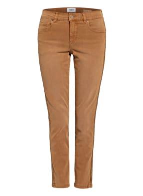 ANGELS Skinny Jeans mit Schmucksteinbesatz
