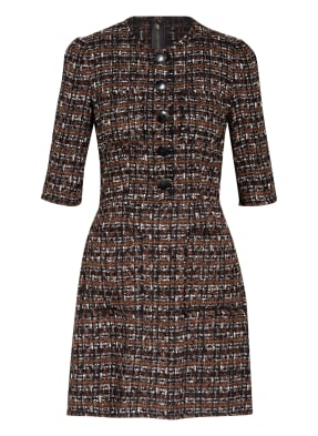 DOLCE&GABBANA Tweed-Kleid