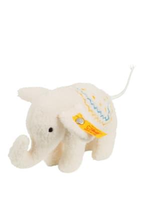 Steiff Elefant-Kuscheltier ELEFÄNTLE mit Rassel
