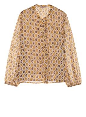 HEMISPHERE Bluse mit Rüschenbesatz