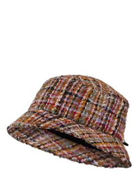 LOEVENICH Bucket-Hat aus Bouclé