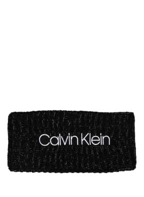 Calvin Klein Stirnband mit Glitzergarn