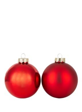 EB HOME 9er-Set Weihnachtskugeln