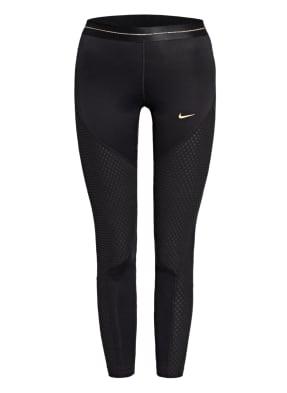 Nike Tights PRO ICON CLASH mit Fleece-Einsätzen
