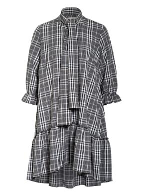 JUST FEMALE Kleid TUNDRA mit 3/4-Arm und Rüschenbesatz