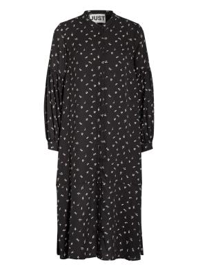 JUST FEMALE Hemdblusenkleid HYDRA mit Volantbesatz