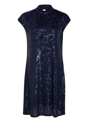 RIANI Kleid mit Paillettenbesatz