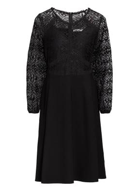 BETTY&CO Kleid mit Spitzenbesatz